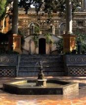 RESTAURACIÓN Fuente del Alcazar de Sevilla