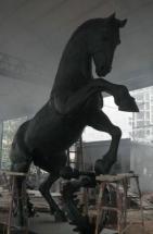 caballo fundido