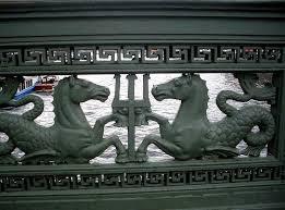 balaustrada de bronce
