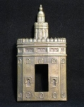 embellecedores bronce para interruptor de luz