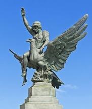 Monumento de bronce