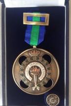 medalla y pin zamak