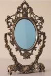 marco para espejo en bronce
