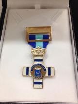 medalla honorifica