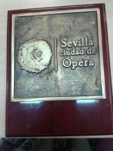 placa institucional fundida en bronce