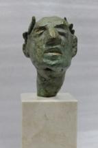 emperador romano en bronce