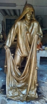 pescador de bronce