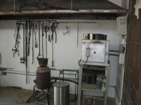 microfusión horno y crisol