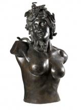torso en bronce