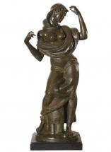 danzarina de bronce