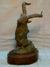 macho montés en bronce