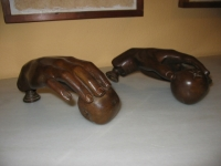 llamadores de puerta en bronce
