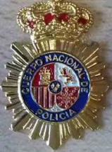 placas de policia