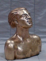 busto en bronce