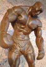 boxeador de bronce