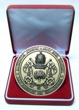zamak medalla corporativa